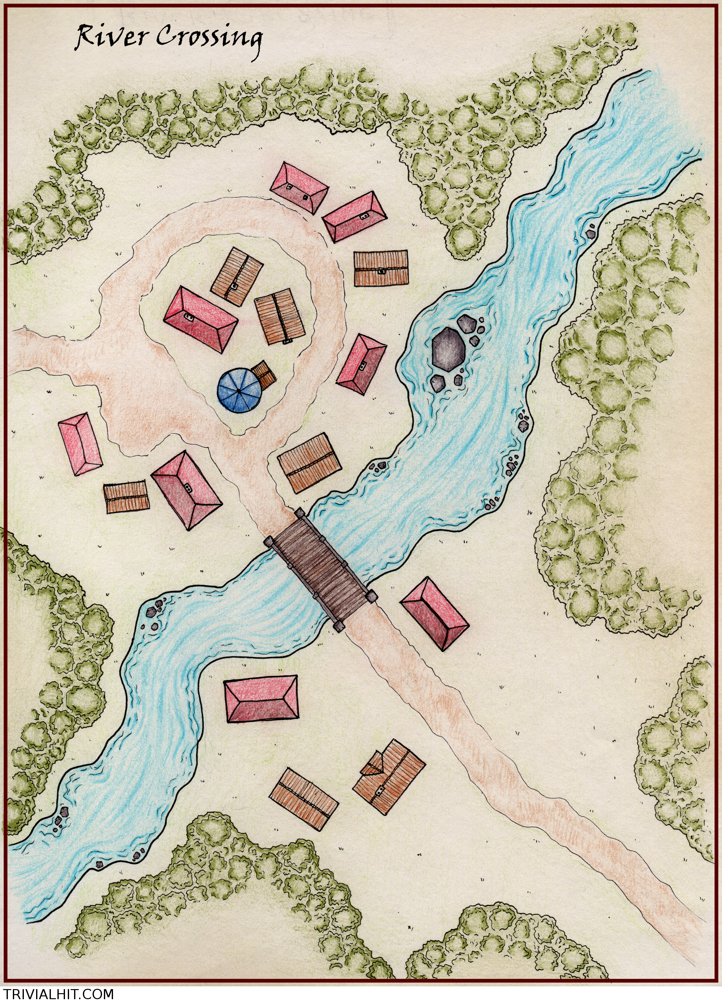 Town – Trivial Hit Dnd Town Map on